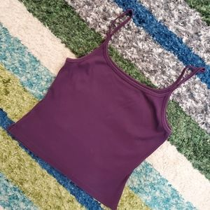 TEEN-Purple tank top